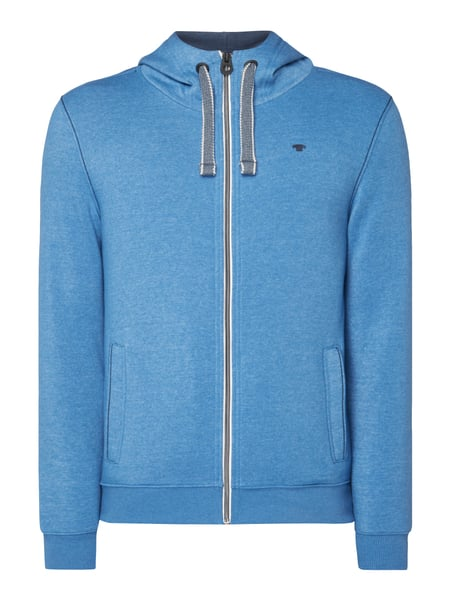 Tom Tailor Sweatjacke mit Kapuze Blau
