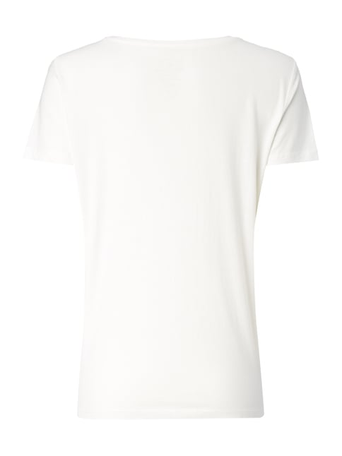 Tom Tailor T-Shirt mit Foto-Prints Offwhite - 1