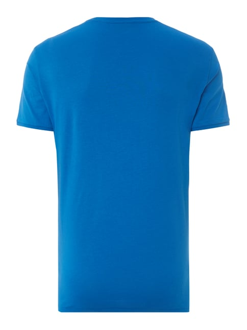 Tom Tailor T-Shirt mit Logo-Print Blau - 1