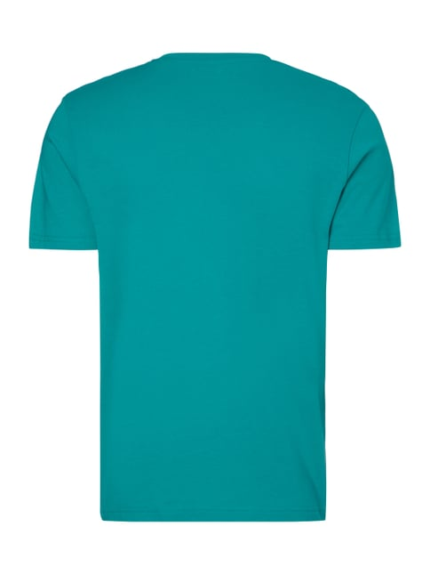 Tom Tailor T-Shirt mit Logo-Print Mint - 1