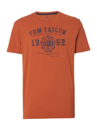 T-Shirt mit Logo-Print Orange - 1