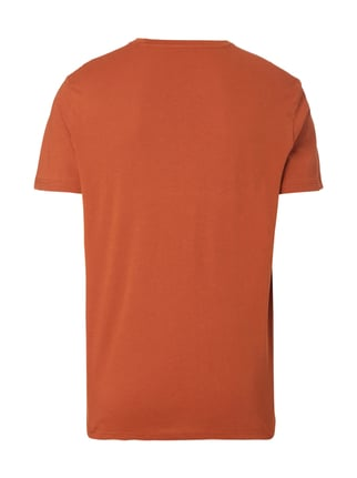 Tom Tailor T-Shirt mit Logo-Print Orange - 1
