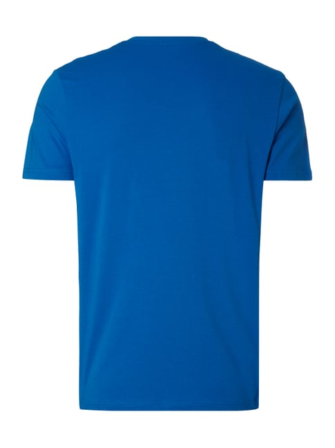 Tom Tailor T-Shirt mit Logo-Print Royalblau - 1
