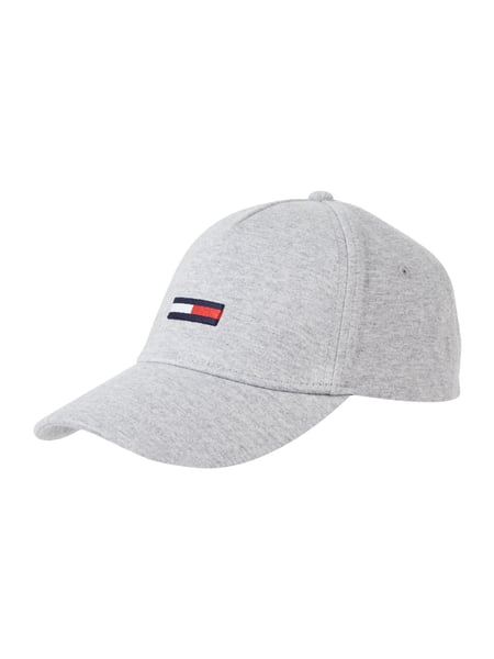 tommy hilfiger basecap mit logo stickerei in grau. Black Bedroom Furniture Sets. Home Design Ideas