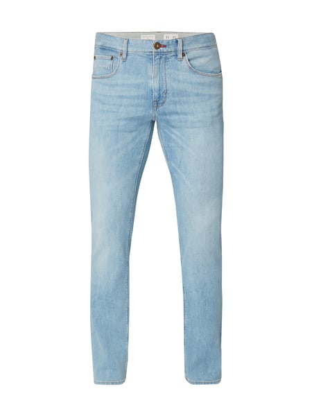 Tommy Hilfiger Bleached Straight Fit Jeans Hellblau