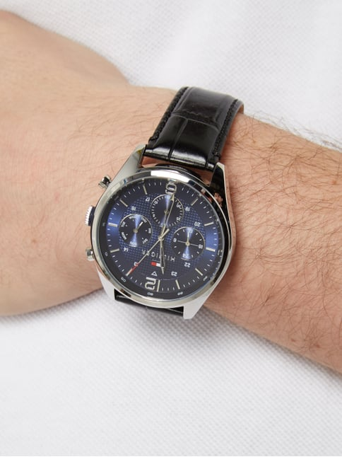 Tommy Hilfiger Chronograph mit Multifunktion Silber - 1