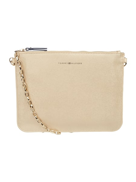 Tommy Hilfiger Mix N Match Pouc - Clutch mit optionalem Kettenriemen Gold