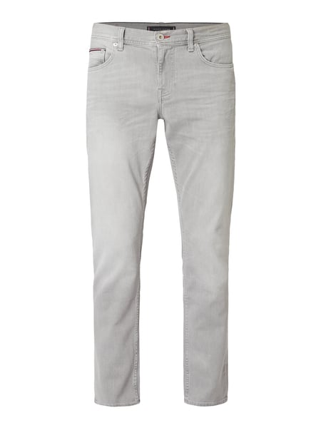 Tommy Hilfiger Coloured Straight Fit Jeans Grau - 1