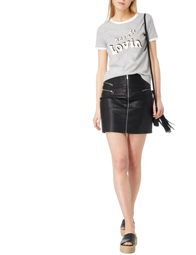 Tommy Hilfiger Cotton Printed T-shirt Gigi Hadid in Grau / Schwarz - 1