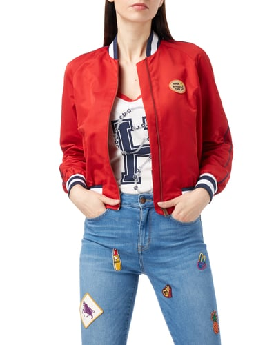 Tommy Hilfiger Cropped Bomber Gigi Hadid Rot - 1