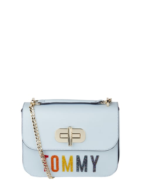 TOMMY HILFIGER TH Idol Mini Crossover Fur Abendtasche Tasche Corporate Rot