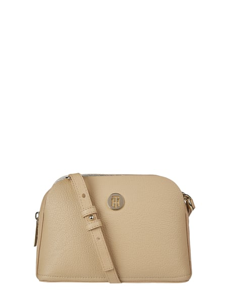 Tommy Hilfiger Crossbody Bag mit Logo-Applikation Beige - 1