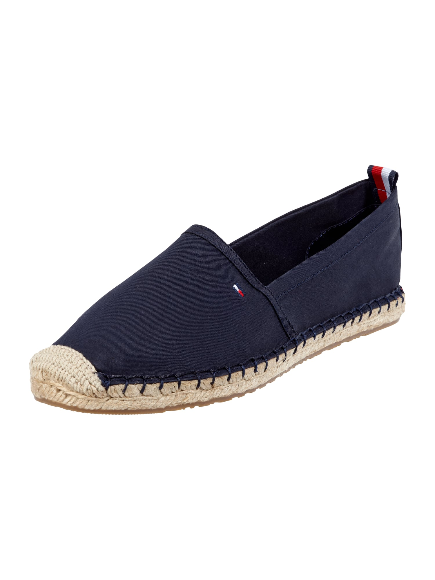 tommy hilfiger espadrilles aus canvas in blau t rkis. Black Bedroom Furniture Sets. Home Design Ideas