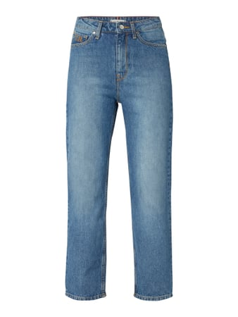 Tommy Hilfiger High Waist Classic Straight Fit Jeans Blau - 1