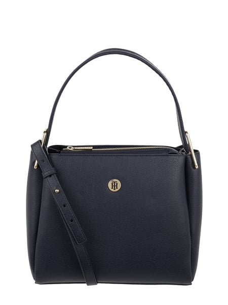 Tommy Hilfiger Hobo Bag mit Logo-Applikation Blau - 1