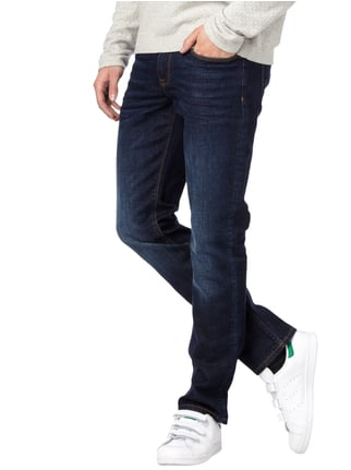 Tommy Hilfiger Light Stone Washed Straight Fit Jeans Marineblau - 1