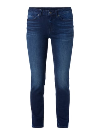 One Washed Straight Fit 5-Pocket-Jeans Blau / Türkis - 1