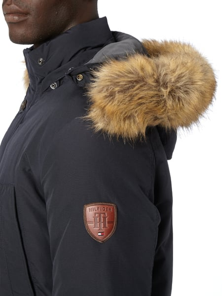 tommy hilfiger parka mit daunen federn f llung in blau t rkis online kaufen 9530492 p c. Black Bedroom Furniture Sets. Home Design Ideas