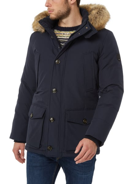 tommy hilfiger parka mit daunen federn f llung in blau t rkis online kaufen 9677735 p c. Black Bedroom Furniture Sets. Home Design Ideas