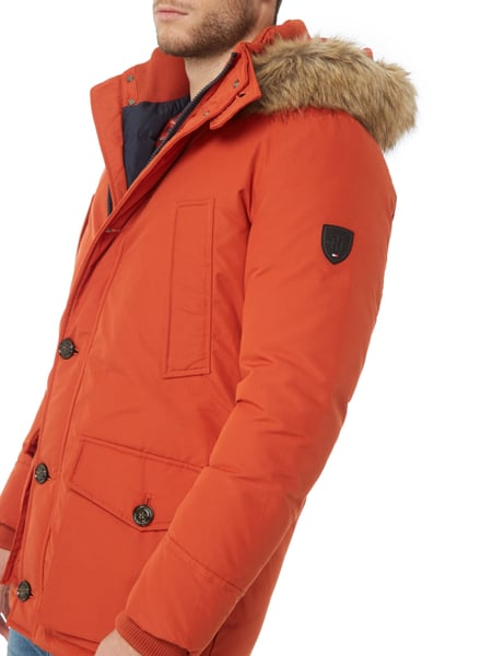 tommy hilfiger parka mit daunen federn f llung in orange online kaufen 9677734 p c online shop. Black Bedroom Furniture Sets. Home Design Ideas
