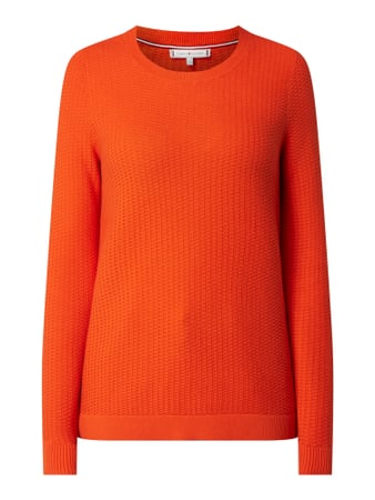 Tommy Hilfiger Pullover mit Logo-Stickerei Orange - 1