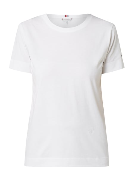 Tommy Hilfiger Relaxed Fit T-Shirt aus Organic Cotton Weiß - 1