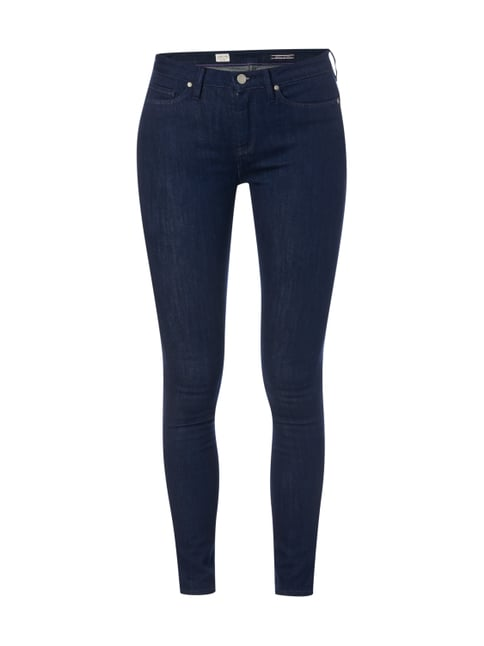 Rinsed Washed Jegging Fit Jeans Blau / Türkis - 1