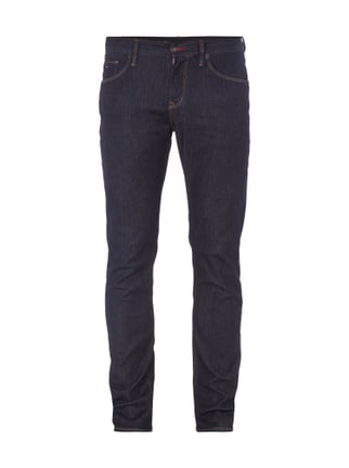 Rinsed Washed Slim Fit Jeans Blau / Türkis - 1