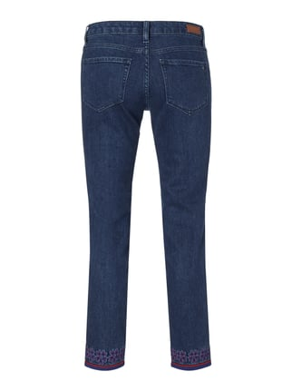Tommy Hilfiger Rinsed Washed Straight Fit Jeans Dunkelblau - 1