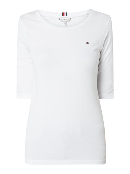 Tommy Hilfiger Shirt - 'Better Cotton Initiative' Weiß - 1
