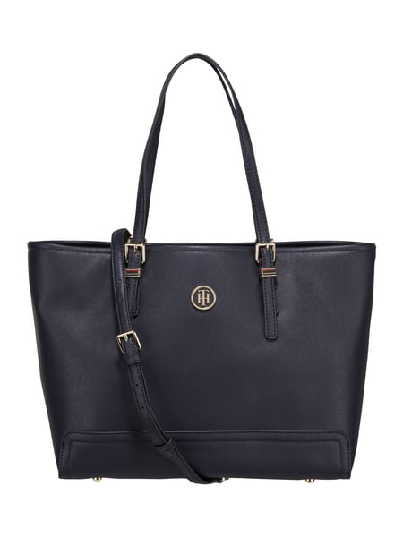 Tommy Hilfiger Honey Med Tote - Shopper mit Saffiano-Struktur Marineblau