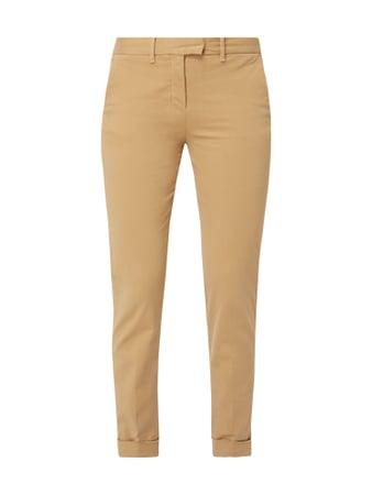 Tommy Hilfiger Skinny Fit Chino mit Logo-Stickerei Braun - 1