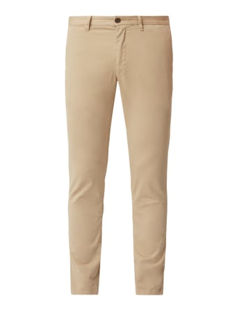 Tommy Hilfiger Slim Fit Chino mit Stretch-Anteil Beige - 1