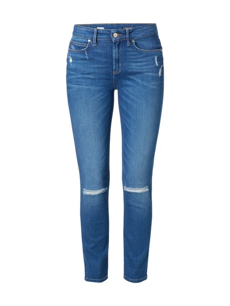 Tommy Hilfiger Slim Fit Jeans im Destroyed Look Blau / Türkis - 1