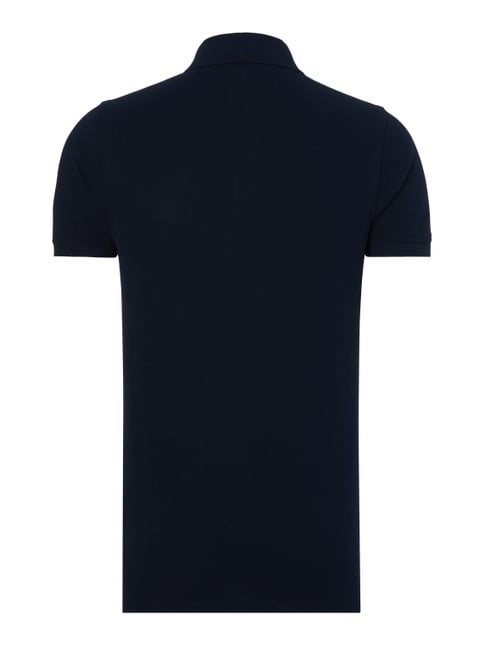 Tommy Hilfiger Slim Fit Poloshirt mit Logo-Stickerei Marineblau - 1