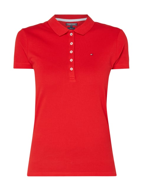 69a1ede8cfe5 Tommy Hilfiger Slim Fit Poloshirt  NEW CHIARA POLO  mit Stretch-Anteil ...