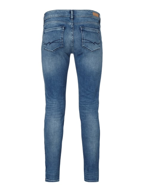 Tommy Hilfiger Stone Washed Skinny Fit 5-Pocket-Jeans Hellblau - 1