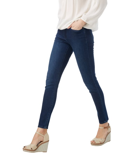 Tommy Hilfiger Stone Washed Skinny Fit Jeans Dunkelblau - 1