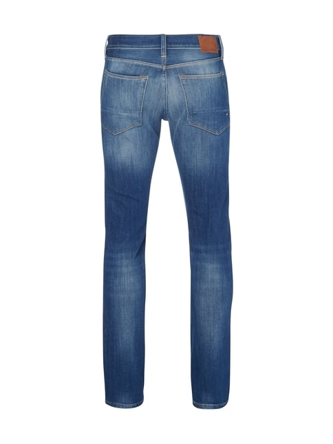 Tommy Hilfiger Stone Washed Slim Fit 5-Pocket-Jeans Blau - 1