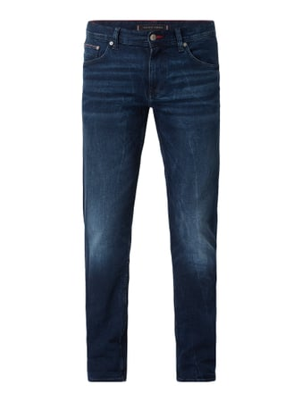 Tommy Hilfiger Stone Washed Slim Fit Jeans Blau - 1