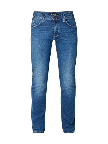 Tommy Hilfiger Stone Washed Slim Fit Jeans Dunkelblau