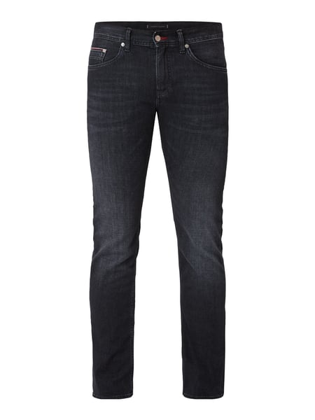Tommy Hilfiger Stone Washed Slim Fit Jeans Grau - 1