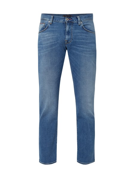 Tommy Hilfiger Stone Washed Straight Fit Jeans Blau / Türkis - 1