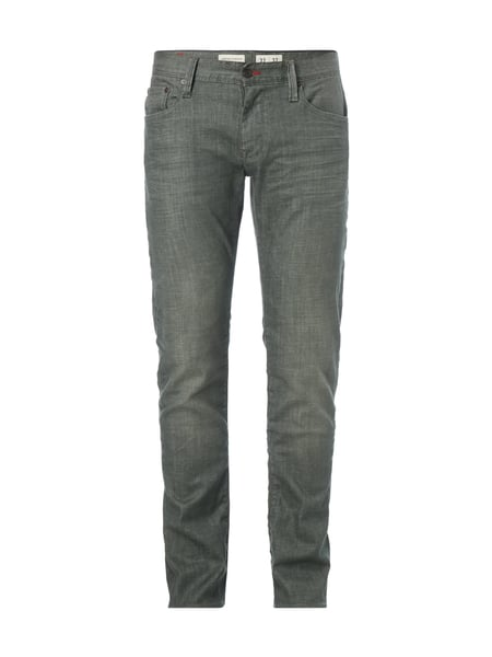 Tommy Hilfiger Stone Washed Straight Fit Jeans Mittelgrau