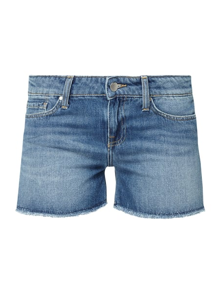Tommy Hilfiger Rome Rw Short - Stone Washed Straight Fit Jeansshorts mit Bandanas Jeans