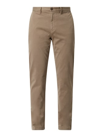 Tommy Hilfiger Straight Fit Chino mit hohem Stretch-Anteil Modell 'Denton' - 'Flex Technology' Beige - 1