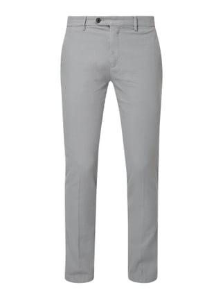 e0f9603083a274 Tommy Hilfiger Straight Fit Chino mit Stretch-Anteil Grau - 1 ...