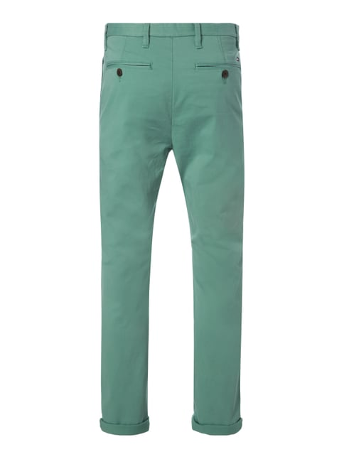 Tommy Hilfiger Straight Fit Chino mit Stretch-Anteil Hellgrün - 1
