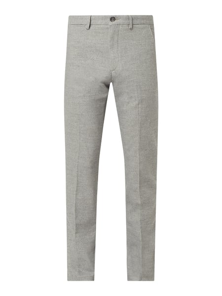 Tommy Hilfiger Straight Fit Chino mit Stretch-Anteil Modell 'Denton' Grau - 1