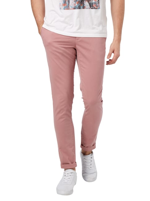 Tommy Hilfiger Straight Fit Chino mit Stretch-Anteil Rosé - 1